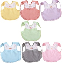 Best Selling New Baby Toddler Boys Girls Cotton Bibs Waterproof Kids Children Saliva Burp Apron Popular Fashion Apron Practical(China)