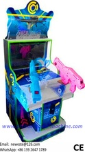 22 inch Screen 2 Players Children Kids Gun Shooting Simulator Aliens Arcade Game Machine
