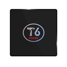 T6 TV Box Android 6.0 Smart TV Box 2GB RAM 16GB ROM Amlogic S905X Quad core 64 Bit Cortex A53 4K 2.4GHz WiFi Smart Set Top Box