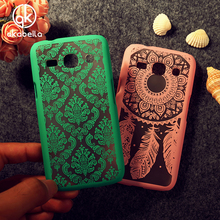 Dirt-resistant Hollow Fashion Cases For Samsung Galaxy Star Advance G350E 4.3 Inch Palace Paper Cut Flower Dreamcatcher Covers