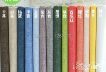 140 cm Wide,High quality Pro-environment Wax Linen fabric for Sewing DIY Patchwork Tablecloth Home Textile Garment Accessory