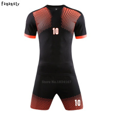 Survetement football soccer jerseys men custom football uniforms adult soccer set suit sports kits maillot de foot 2016 2017(China)
