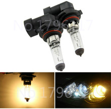 1pcs Car headlight bulbs HB4 9006 12V 55W 4300K Clear car light source external lights foglights halogen bulb Xenon HID Yellow(China)