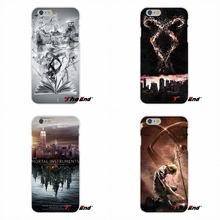 For Huawei G7 G8 P7 P8 P9 Lite Honor 4C Mate 7 8 Y5II TPU Slim Back Silicone Case Cover Skin City Of Bones Shadowhunter Poster