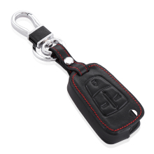 3 Buttons Folding Flip Remote Key Case Shell Fob Leather Cover For Vauxhall / Opel / Astra H / Corsa D / Vectra C / Zafira