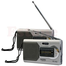 Universal Slim AM/FM Mini Radio World Receiver Stereo Speakers MP3 Music Player(China)
