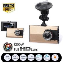 "3"" HD 1080P Car DVR Camera CCTV Dash Camera G-sensor Video Cam Recorder USB Motion DVRs"