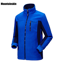 5XL Men Women's Winter Fleece Softshell Jackets Outdoor Coats Sport Brand Clothing Hiking Skiing Camping Male Female Coats VA085