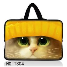 "Cute Cat 10.1"" 13.3"" 14"" 15.6"" Laptop Neoprene Sleeve Case Notebook Bag Cover For Dell Inspiron /HP /IBM/Asus/Acer/Sumsung/Sony"