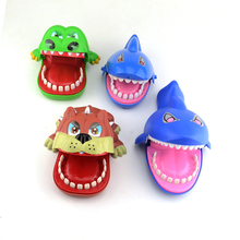 2018 New Trick Large Shark Bulldog Crocodile Dentist Bite Finger Prank Toys Funny Novelty Gag Toy For Kids Gift(China)
