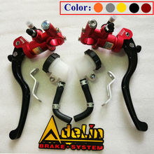 Universal 16mm 17.5mm 19mm Adelin PX1 motorcycle brake clutch pump master cylinder lever handle For Yamaha Kawasaki Suzuki