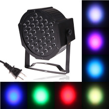 36W 18-LED Professional Christmas Laser Projector Light Lamp Sound Control New Year Club Party Bar Stage Effect Light (EU Plug)