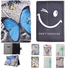 "Ultra Slim Smile Face Flip Stand Case For Amazon Kindle Fire HDX7 7"" Tablet PU Leather Protective Business Book Shell Sleeve Bag"