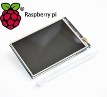 Free shipping! LCD module Pi TFT 3.5 inch (320*480) Touchscreen Display Module TFT for Raspberry Pi 3(China)
