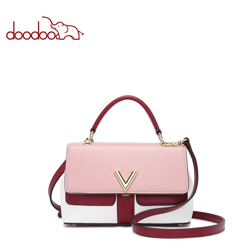 Doodoo Fashion Luxury Handbags Women Bags Designer PU Leather ladies high quality clutch female shoulder messenger crossbody bag<br>