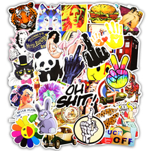 Buy 50 Pcs Stickers Mixed Funny Cartoon Jdm Doodle Decals Luggage Laptop Car Styling Skateboard DIY Home Decor Sticker kid's Toy for $1.80 in AliExpress store