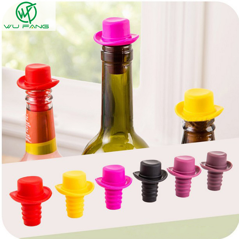 Wine Bottle Stopper Silicone Bar Tools Preservatio...