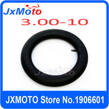 3.00-10 Scooter Inner Tube Scooter ATV Moped Go Kart Motorcycle Tyre Parts monkey bike parts 3.00-10 inner tube(China)