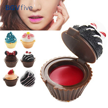cake/icecream /flower Beauty style Makeup Lip Gloss Multi Colors