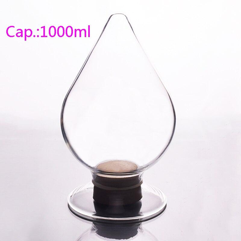 Big seed bottle,Capacity 1000mlml,Conical seed bottle,Display bottle,Heart-shaped bottle<br>