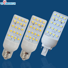 g24 led lamp 5w 7w 9w led bulb e27 g24 base smd5050 20 pcs ultra bright led ac 110v 220v 240v warm cold white led light