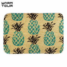 Buy WARM TOUR Blue Pineapple Doormat Indoor Outdoor Cute Fruit Decor Door Mats Living Room Bedroom Soft Floor Home Mat for $11.73 in AliExpress store