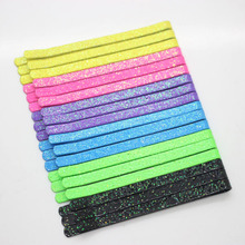 50 Pcs/set neon color bobby pins glitter hair barrettes different size women's fashion hair clips hair accessories wholesale