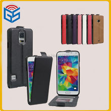 Ali Trading Company Flip Leather Case For Samsung Galaxy S5 I9600 G900 Phone Cover Free Shipping(China)