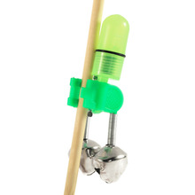 2pc Outdoor Twin Rod Bells Ring Fishing Bait Lure Accessory alarm product Newest New Brand(China)