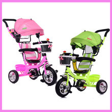Portable Baby Toddle Child Tricycle Bike Trolley Umbrella Stroller Pushchair Pram Buggy Bicycle 6M~5Y