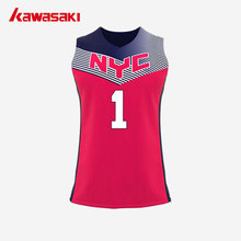Brand Kawasaki Basketball Jersey Shirts #1 USA Mens & Women Collage Custom Breathable Practice Exercise Train Basketball Vest(China)