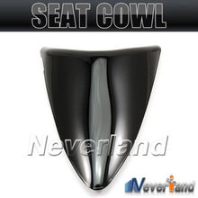 2015 Hot sale Motorcycle Rear Seat Cover Cowl For Kawasaki Ninja ZX6R 636 ZX 6R 2007 2008 07 08 Black #90C20 Free shipping