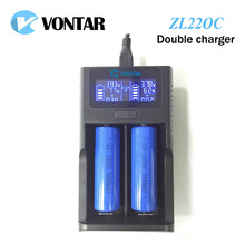 VONTAR Smart LCD USB Battery Charger Smart for 26650 18650 18500 18350 17670 16340 14500 10440 lithium battery 3.7V(China)