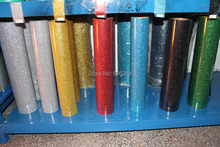"20""x6 Yards Iron On Glitter Heat Transfer Vinyl Printing Heat Transfer Filme"
