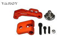 Free Shipping Tarot Gravity Adjustble FPV Display Mounting Bracket Set for Futaba Transmitter/Radio System Orange\light grey