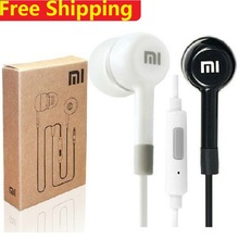 Hot Sales Portable In-Ear Earphones For XiaoMI M2 M1 1S Samsung iPhone MP3 MP4 With Remote And Microphone  Free Shipping 2017