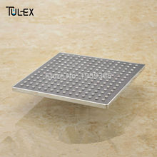 "Special offer Rainfall Overhead Shower Head Square Wholesale And Retail 9"" ABS Chrome Rain Shower Head On Sale(China)"