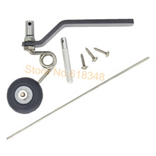 Buy 26cc Great Plane Landing Gear Carbon Tail Wheel Assembly 1.25 inches Rubber Tire Kit Nitro Power RC Airplane Replacement Parts for $5.99 in AliExpress store