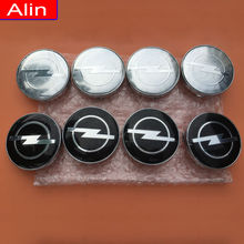 4pcs 60mm Opel logo Wheel Center Hub Cap car rim Dust-proof Badge emblem cover Auto styling Free shipping
