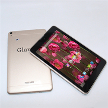 Glavey Quad core 7 inch 3G GSM 2MP+8MP Andriod 4.4 One sim card slot phone call MTK8382 with Bluetooth Wifi ips Tablet PC(China)
