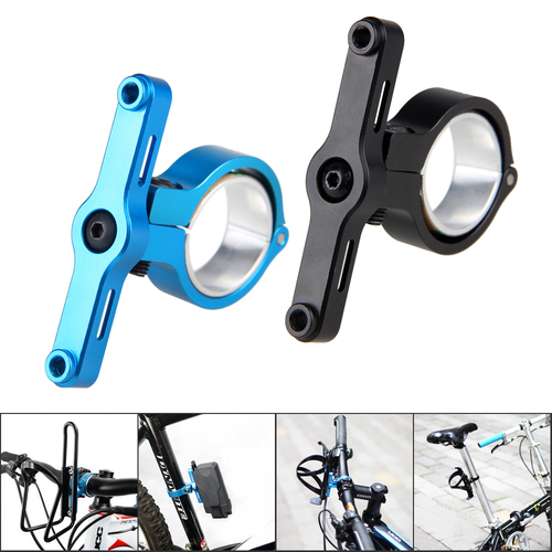 TrustFire HE02 MTB Bicycle Bike Light Torch Handlebar Clip Mount Bracket BLACK