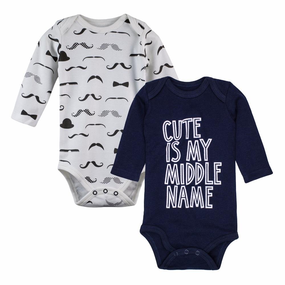 2-pcs-lot-Baby-Clothing-100-Cotton-Newborn-Baby-Bodysuits-Long-Sleeved-Child-Garment-Baby-Girl