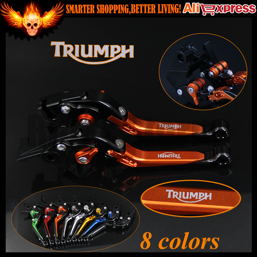 Adjustable Folding Extendable Motorcycle Brake Clutch Levers For Triumph ROCKET III ROADSTER 2010 2011 2012 2013 2014 2015 2016<br>