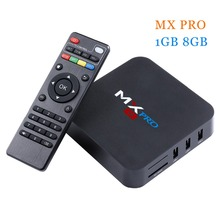 MX PRO S905 Quad-Core Android 5.1 TV Box RAM 1G Flash 8G kdplayer 16.0 Wifi 2.5GHz Built in Wifi Media Player Smart TV Box(China)