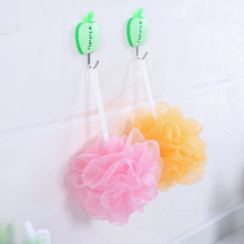 1 PCS Environmental Soft Bath Ball Rich Bubbles Flower Bath Sponge Shower Brush Body Wash Scrubber Mesh Soft Puff Random Color(China)