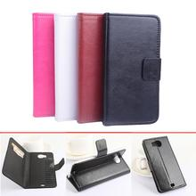 For Prestigio Multiphone 5300 Duo case High Quality Leather Case + hard Back cover phone cellphone cover 5300Duo In Stock(China)