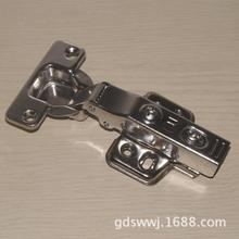 New high-end polished stainless steel, 304 hydraulic hinge, damping door cabinet, hinge, DTC style, aircraft buffer door hinge