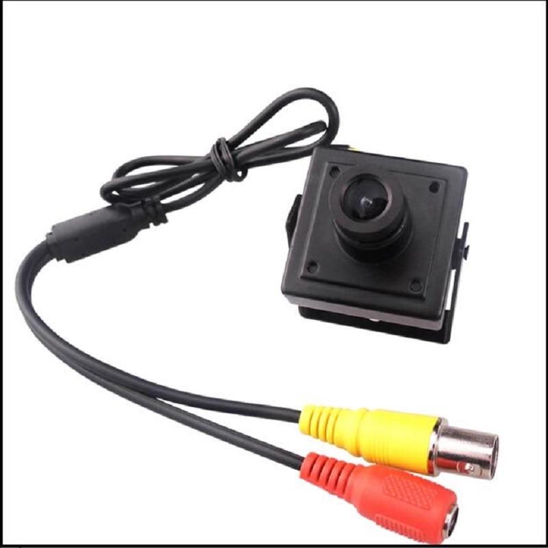 Mini Security CCTV 2MP AHD Camera 1080P Full High Definition Indoor Micro Surveillance AHD Camera 3.6mm Pinhole Lens Camera<br>