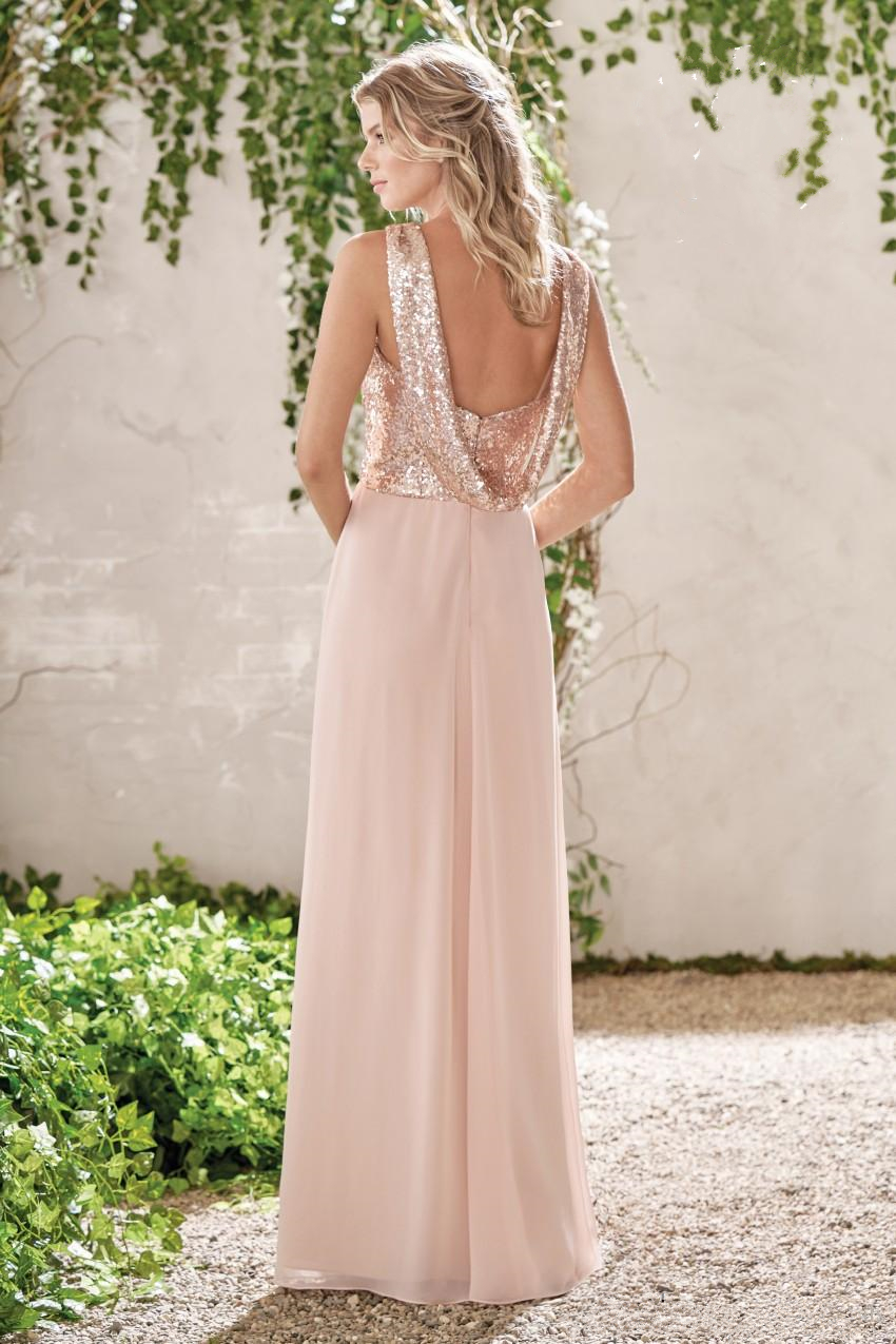 2017-new-rose-gold-bridesmaid-dresses-a-line-spaghetti-backless-sequins-chiffon-cheap-long-beach-wedding-gust-dress-maid-of-honor-gowns (5)