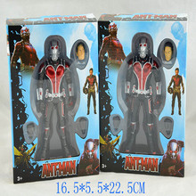 "New Marvel Ant-man Ant man PVC Action Figure Toys 7""18cm 2 Colors With Box Free Shipping"